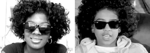 Do you think that she look alike Princeton?