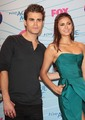 Dobsley @ TCA2012 - paul-wesley-and-nina-dobrev photo