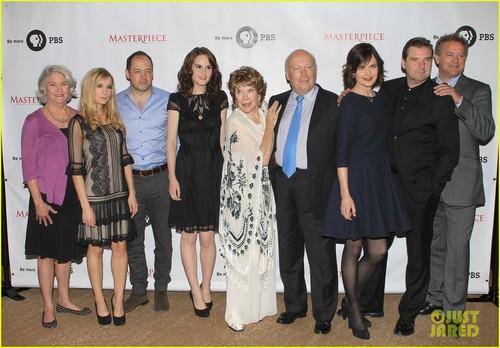 Downton Abbey Season 3 cast 사진 first look