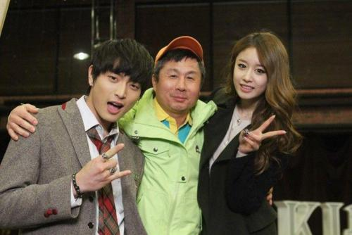 Dream High 2 wallpaper with a business suit and a well dressed person called Dream high 2 Behind the scene