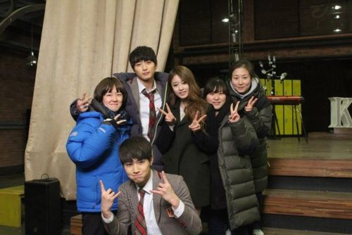 Dream high 2 Behind the scene - dream-high-2 Photo