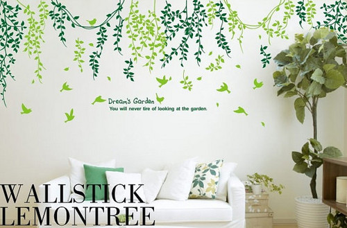 Dream's Garden Wall Stickers