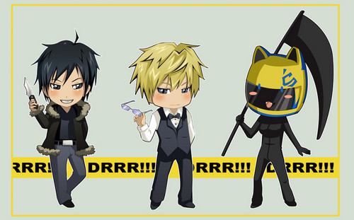 Durarara!! wallpaper probably with anime titled Drrr!!