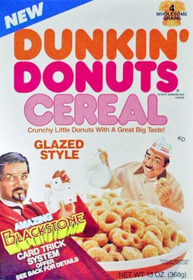 Dunkin Donat kertas dinding containing Anime entitled Dunkin' Donat cereal