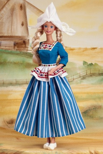 Barbie: Dolls Collection wallpaper probably containing a polonaise and a kirtle titled Dutch Barbie® Doll 1994