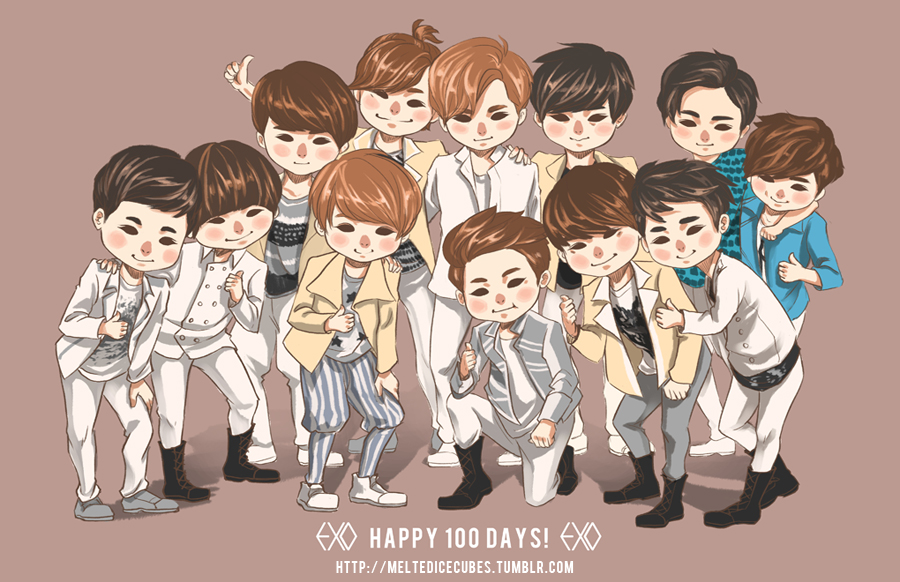 Exo K Images Exo 100 Days Hd Wallpaper And Background Photos 31603375