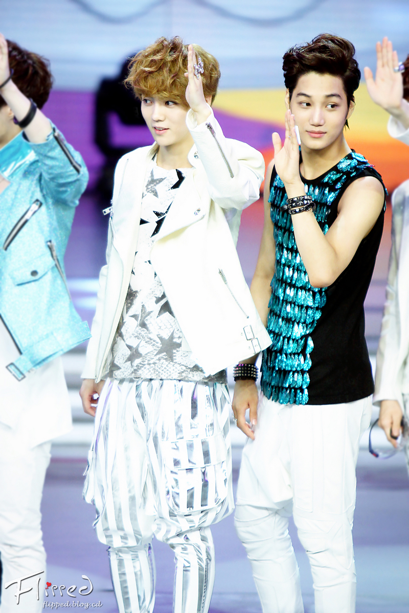 KAI (EXO-K) images EXO @ Happy Camp HD wallpaper and background photos ...