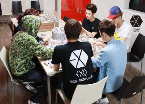 EXO-K - Official Staff Diary - exo-%EC%97%91%EC%86%8C Photo