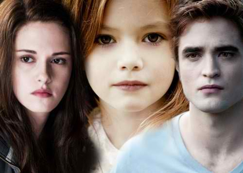 Edward, Renesmee, Bella