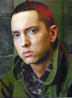 EMINEM wolpeyper containing a green beret, fatigues, and panlabang uniporme entitled Eminem