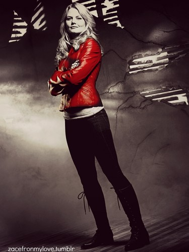 Emma cygne fond d'écran possibly with a hip boot, a legging, and a capuche, hotte entitled Emma Swan♥ ( OUAT )