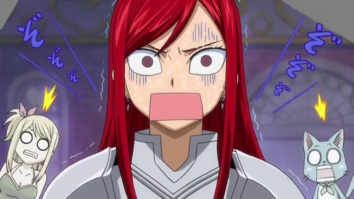 Erza funny moment