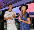 Ester Satorova ignoring Tomas Berdych !