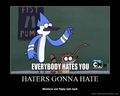Everybody HATES you!!!!!! - regular-show photo