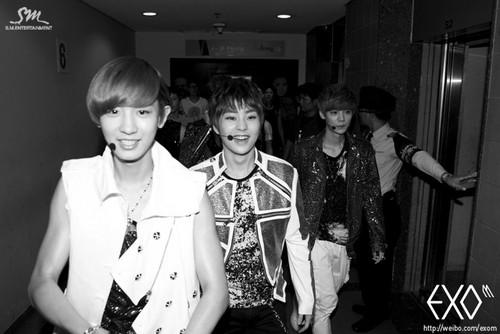exo in Thailand día 3 – Official weibo actualización