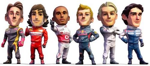F1 Drivers Cartoon