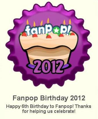 Fanpop Birthday 2012 ٹوپی