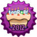 fanpop Birthday 2012 berretto, tappo