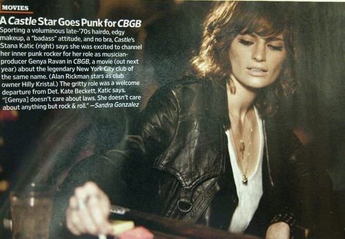 First Look: Stana As Genya Ravan In CBGB