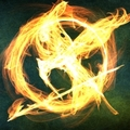Flaming Mockingjay