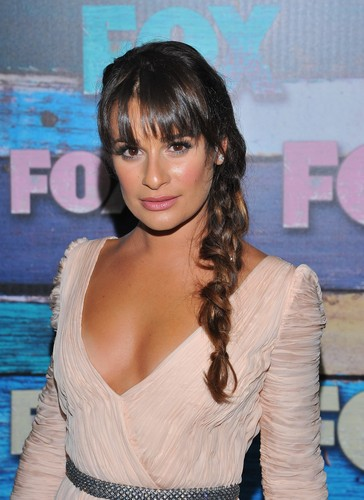Fox 2012 Summer TCA All-Star Party - Arrivals - July 23, 2012 - lea-michele-and-cory-monteith Photo