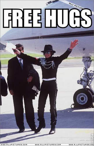 Free HUGS from MJ