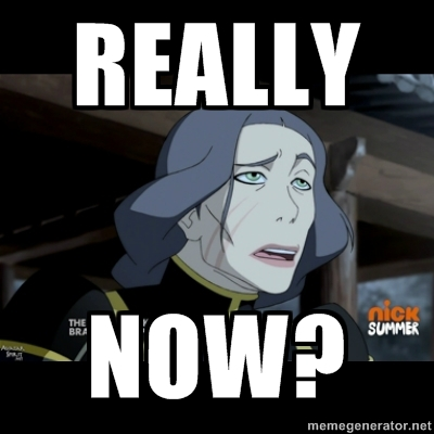 Avatar, La Légende de Korra fond d'écran with animé called Funny Lin Beifong Meme