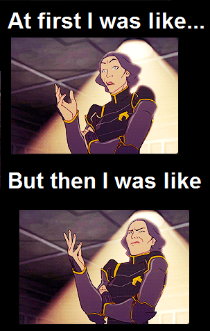 Avatar, La Légende de Korra fond d'écran containing animé entitled Funny Meme