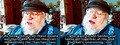GRRM about Sansan - sandor-and-sansa photo