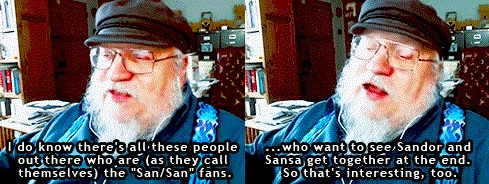 GRRM about Sansan
