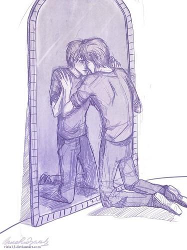 George Weasley - Every Mirror is the Mirror of Erised