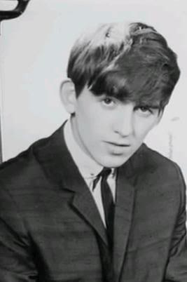George Harrison wallpaper possibly containing a business suit, a well dressed person, and a suit titled Georgie