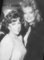 Gloria Monty and Sharon Wyatt at the 1987 Soap Opera Digest Awards