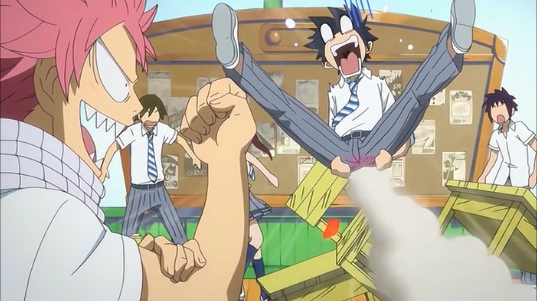 Gray funny moment OVA 2