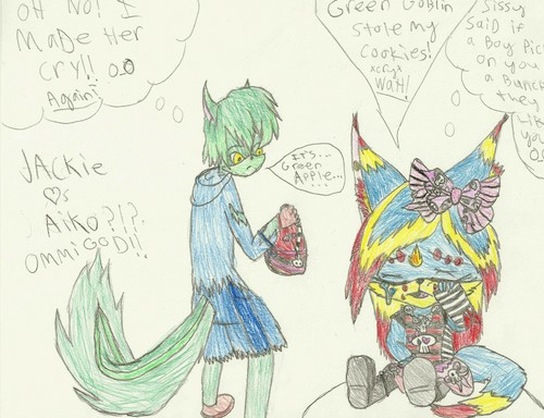 Green Apple *4 CyberEchidna* - sonic-fan-characters Fan Art