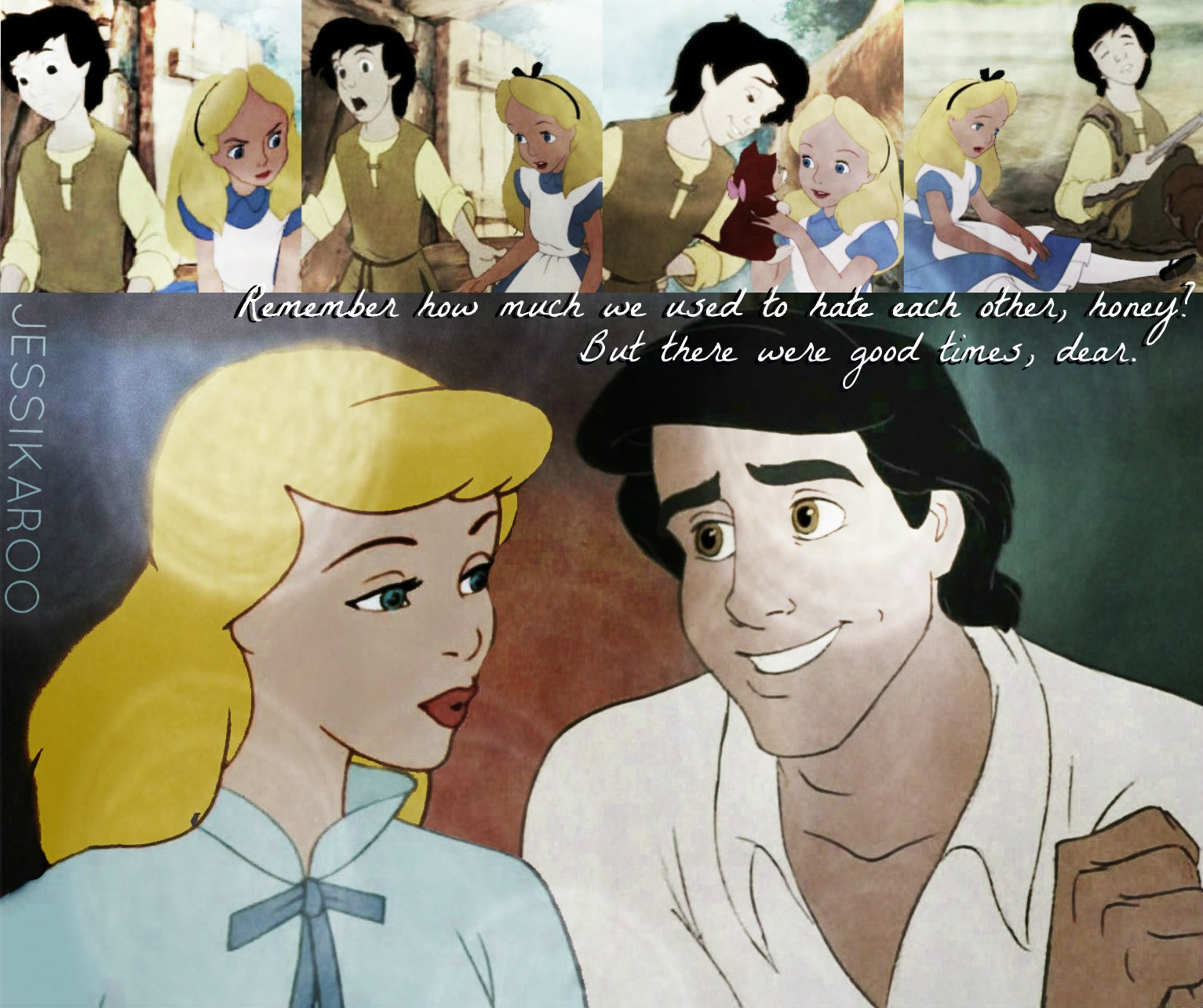 Alice In Wonderland 1951 Fanpop: Alice And Taran As Cinderella And