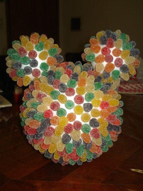 pastilla de goma, goma de mascar, gumdrop Mickey