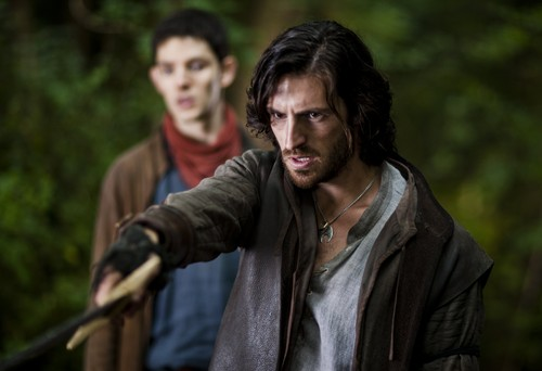 Gwaine & Merlin- Season 3