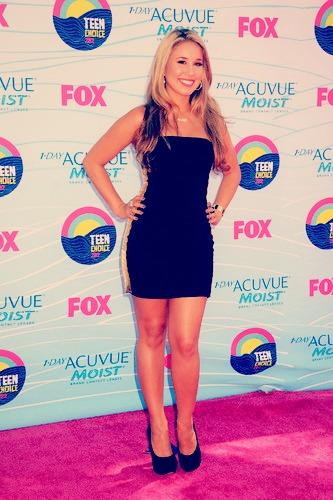 Haley at the 2012 Teen Choice Awards