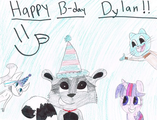 Happy B-day Dylan!!!!! :D