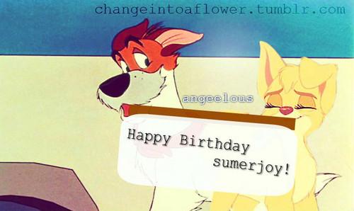 Happy Birthday sumerjoy11! <3
