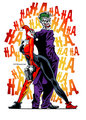 Harley Quinn and The Joker - gotham-girls fan art