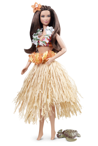 Barbie: পুতুল Collection দেওয়ালপত্র titled Hawaii U.S.A. Barbie® Doll-2012