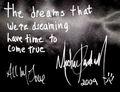 His autograph 2009 - michael-jackson photo