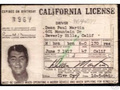His license - dean-martin photo