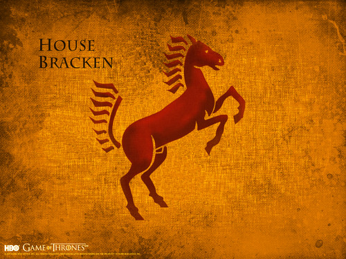 game of thrones wallpaper entitled House Bracken