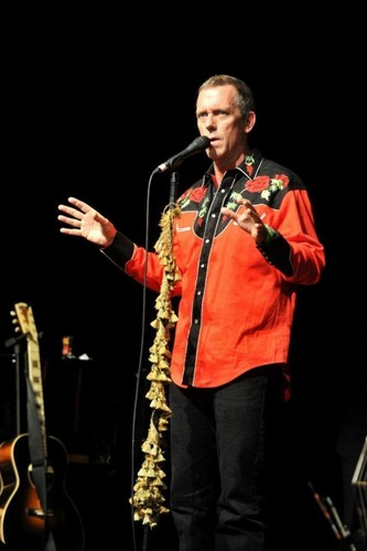"Hugh Laurie concerto at the ""Teatro Arteria Parallel(Barcelona) 26.07.2012"
