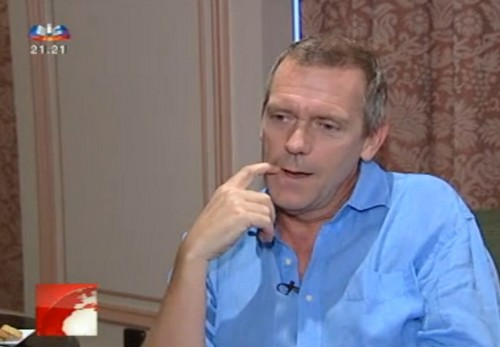 Hugh Laurie- interview SIC noticias 30.07.2012