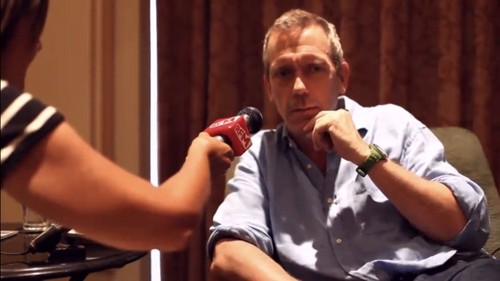 Hugh Laurie interview- radio RFM-Lisboa 30.07.2012