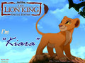 I'm KIARA ( TLK II kiara cub ) - the-lion-king-2-simbas-pride wallpaper